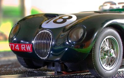 Jaguar C-Type 1953 Le Mans Auto Art