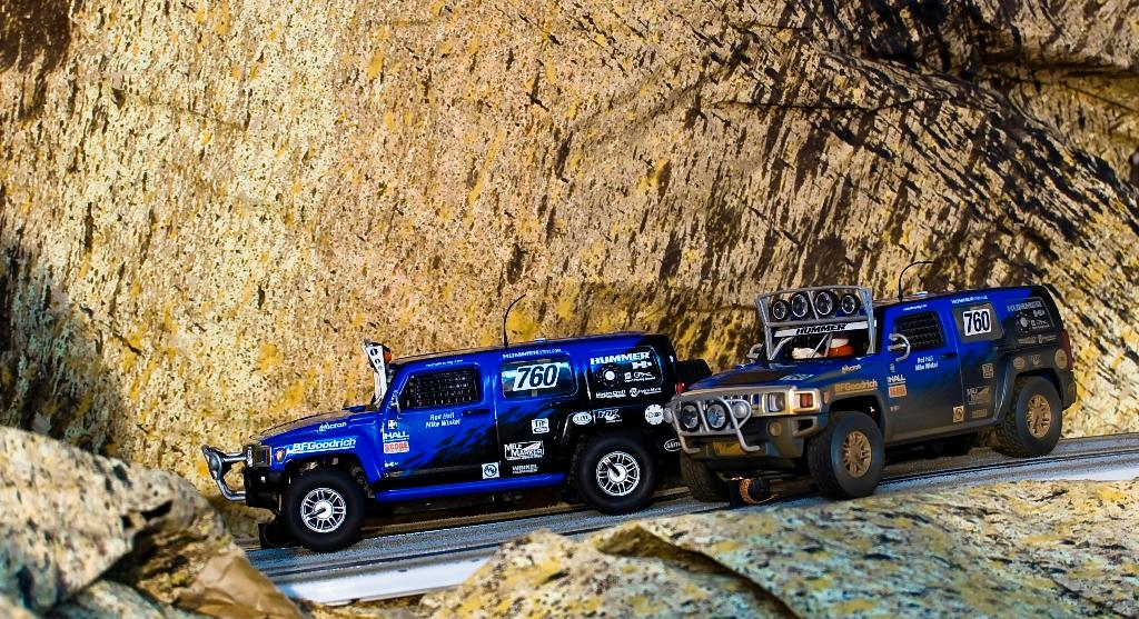 Hummer H3 SUV Scalextric