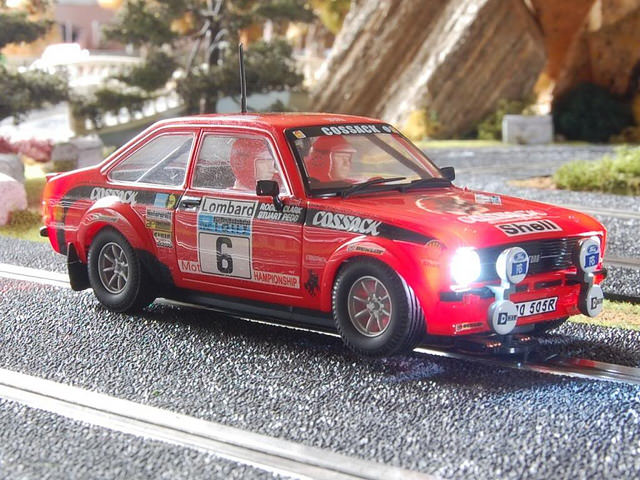 Ford Escort RS 1800 MKII 1976 Scalextric