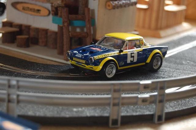 Preparación Fiat 124 Abarth Spider Scalextric