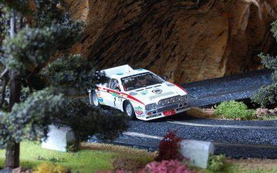 Lancia 037 Rally El Corte Inglés 1986 Fly Car Model