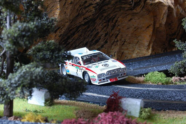 Lancia 037 Rally El Corte Inglés 1986 Fly Car Model