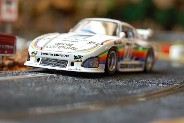 Porsche 935 K3 Le Mans 1980 Fly Car Model