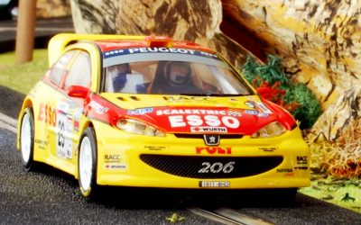 Peugeot 206 RC 2007 Scalextric