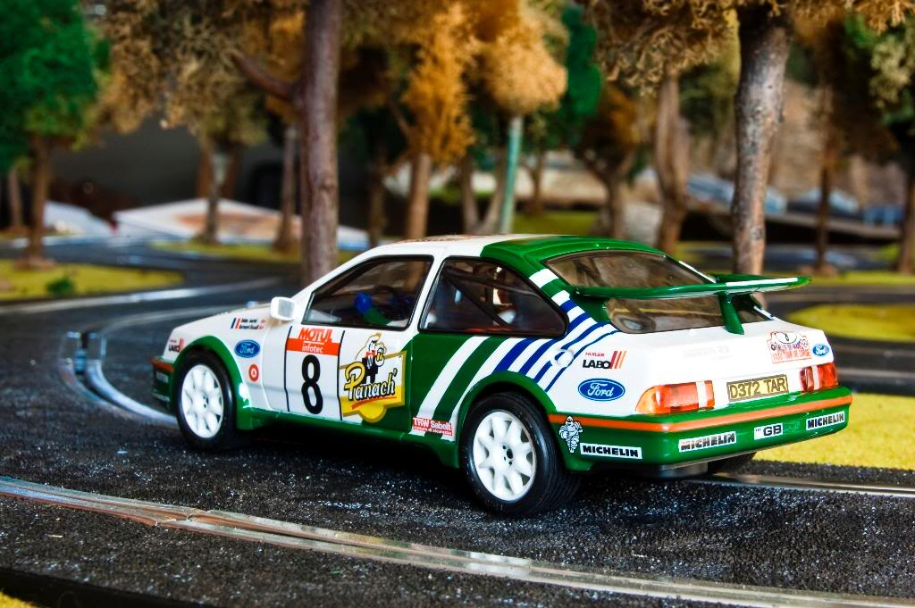 Ford Sierra Cosworth 1988 Tour de Corse Scalextric