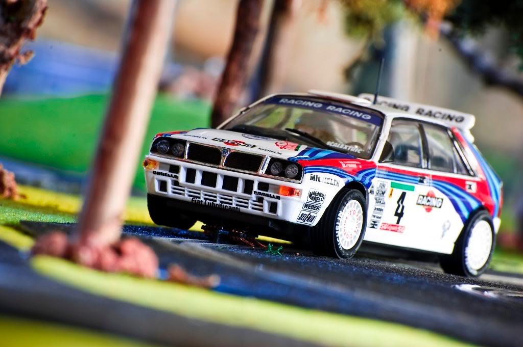 Lancia Delta Integrale Rally Portugal 1992 SCX Altaya