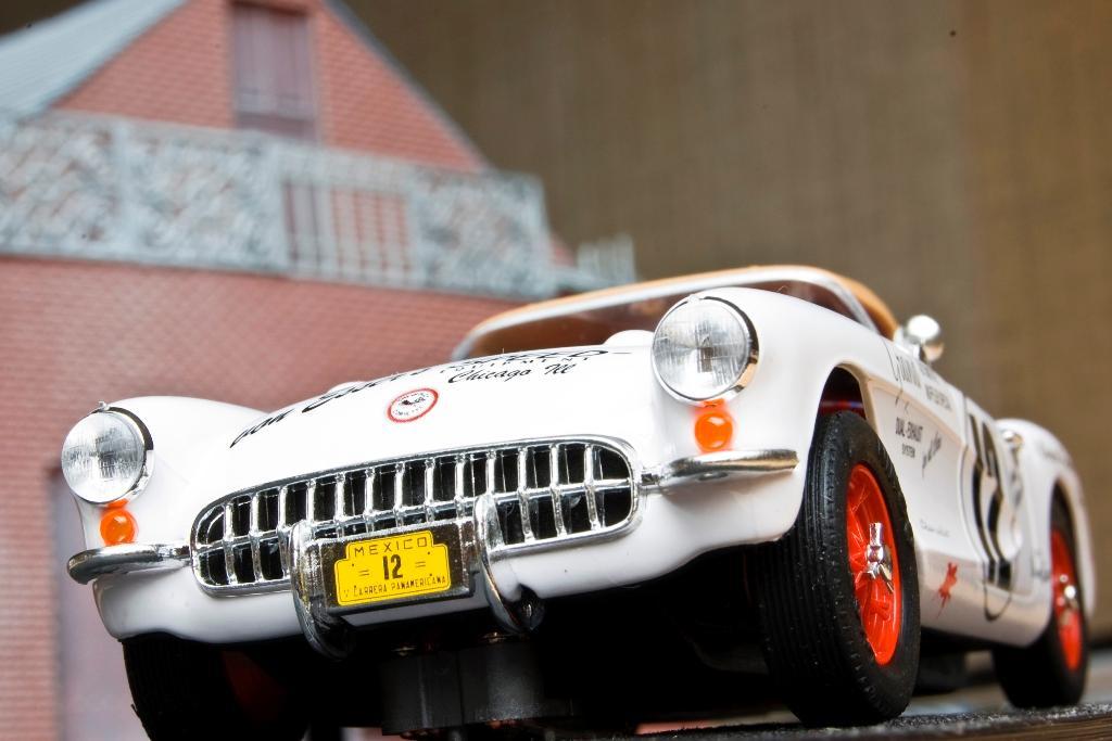 Chevrolet Corvette 1954 Panamericana Ninco