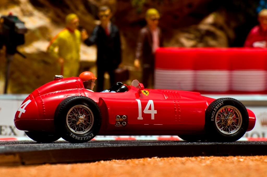 Lancia-Ferrari D50 F1 Peter Collins Reims 1956 Cartrix