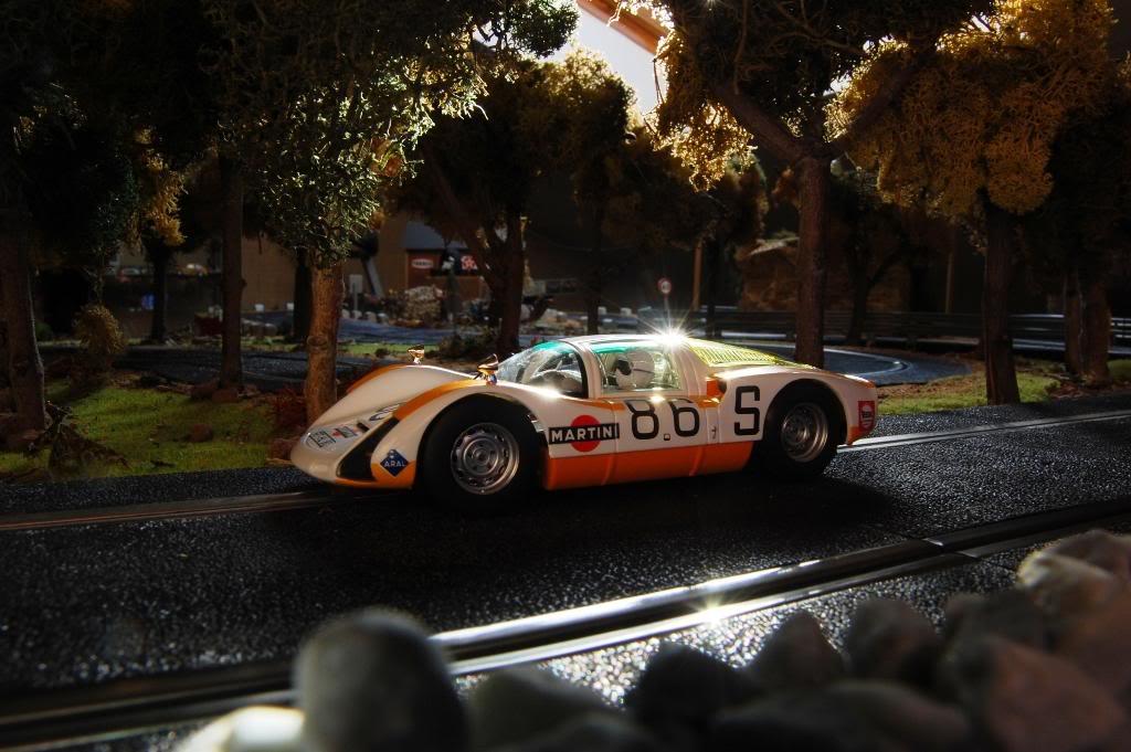 Porsche Carrera 6 1968 Fly Car model