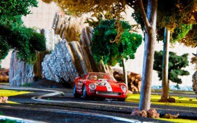 Ferrari 250 LM 1965 Le Mans Fly Slot Cars
