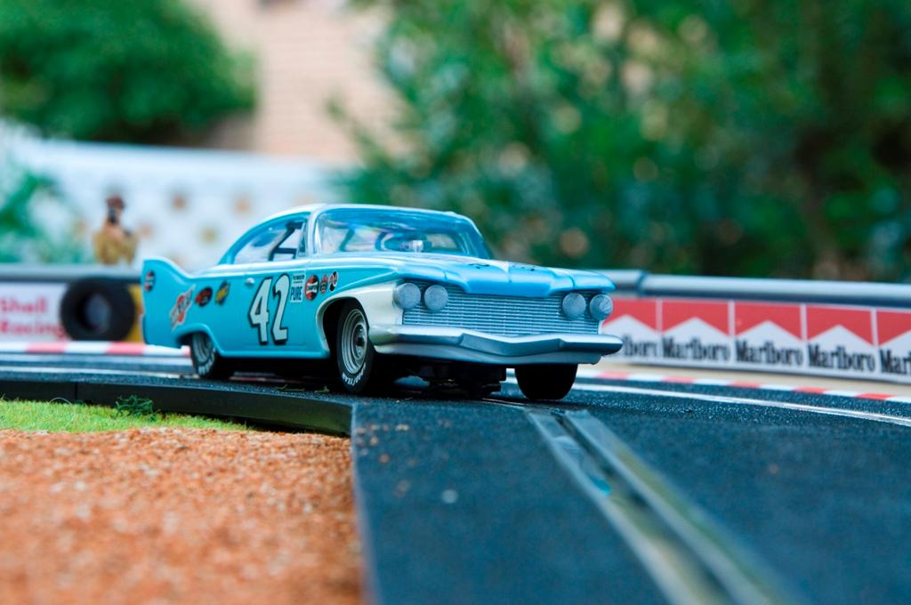 Plymouth Fury Nascar 1960 Lee Petty