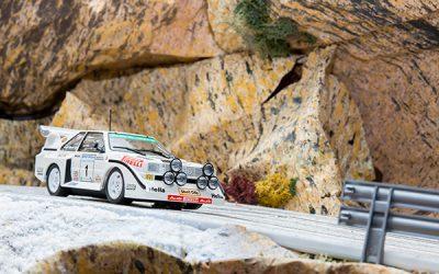 Audi Quattro Sport E2  1985 Rally Ulster