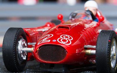 Lancia D50 GP Mónaco F1 1955 Cartrix