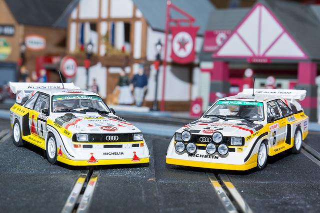 Audi Quattro Sport S1 Superslot vs Revell