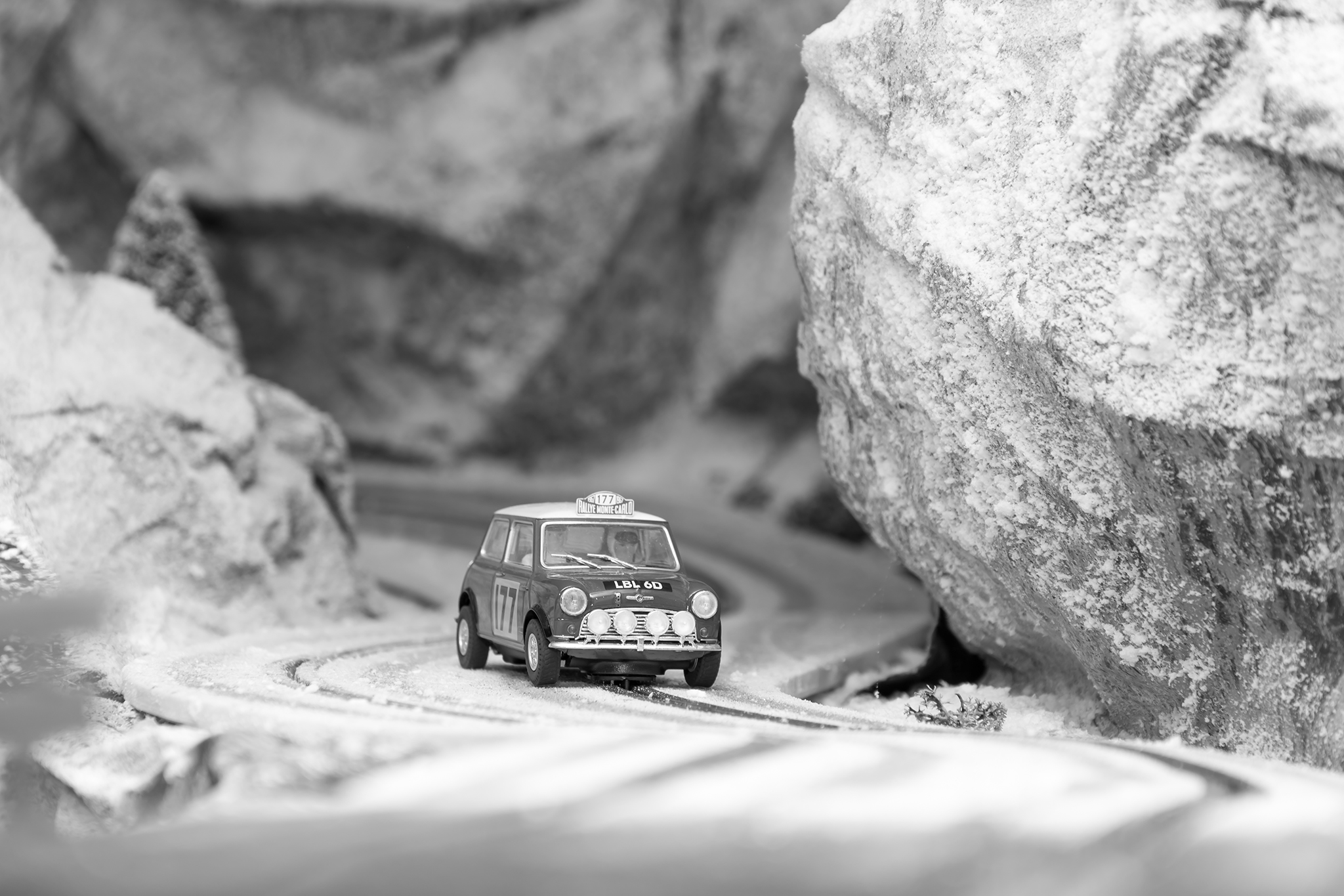 Mini Cooper 1967 Rally Montecarlo
