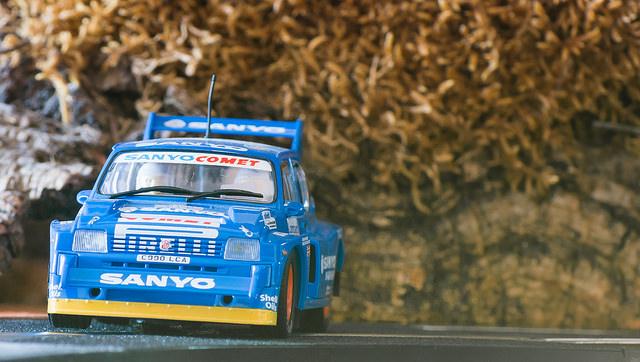 "MG Metro 6R4 Rally RAC Lombard 1986 ""Sanyo"""