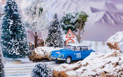 Citroën DS21 Rally Montecarlo 1966 Pauli Toivonen