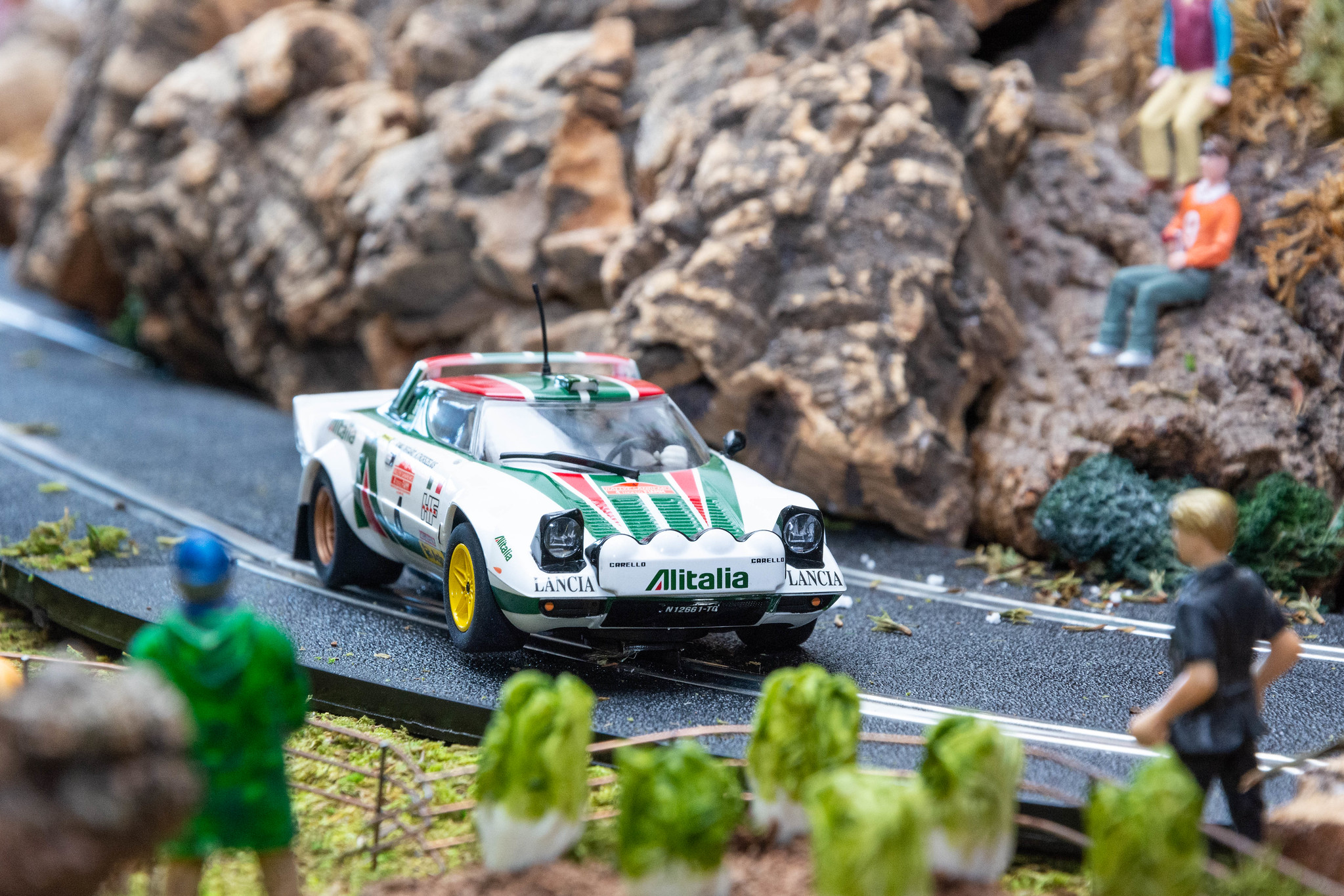 10 Años Ultima Vuelta. Lancia Stratos Rally San Remo 1976