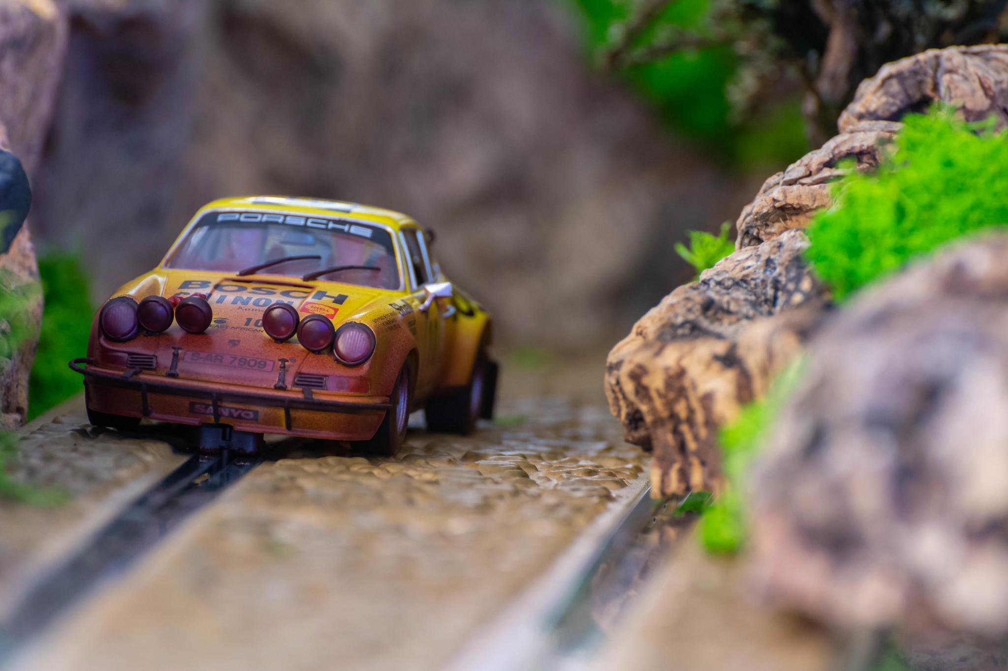 Porsche 911 Carrera RS Rally Safari 1973