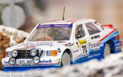 Mercedes 190E 2.3.16 Rally Monte Carlo 1995