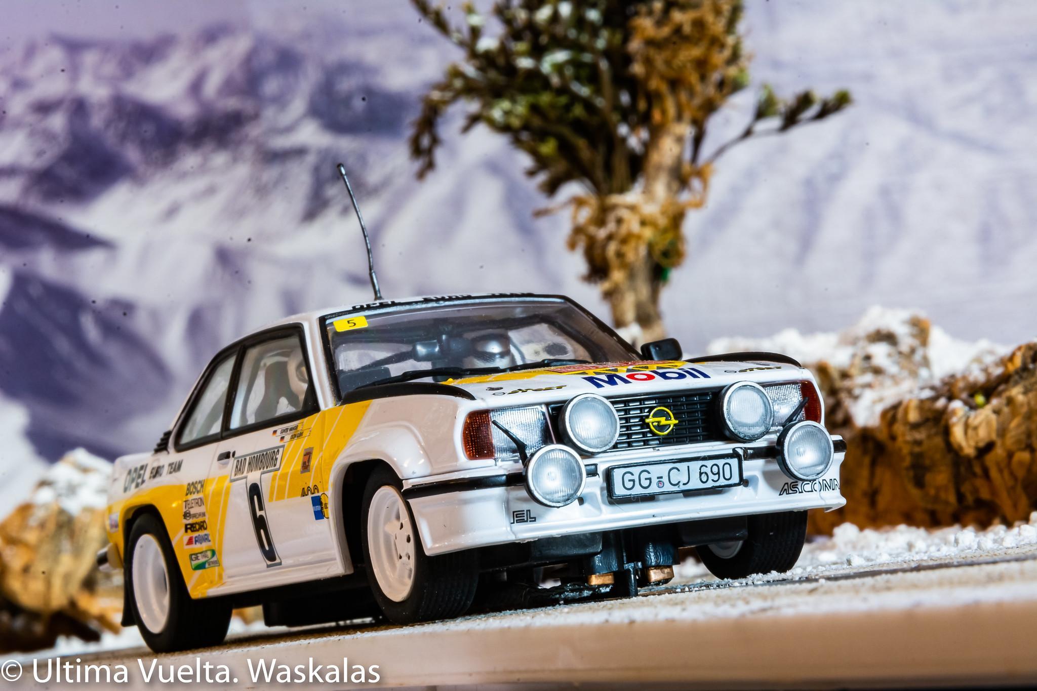 Opel Ascona 400 Rally Monte Carlo 1981